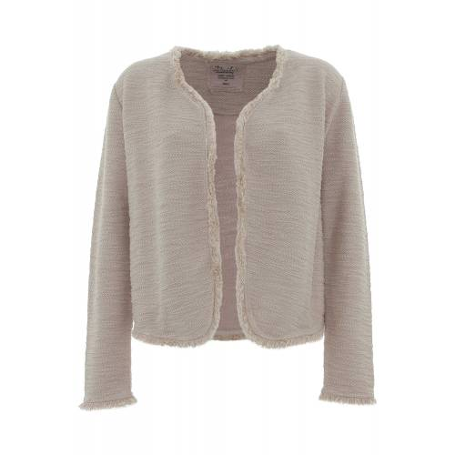DAILY'S ICY: Cardigan Boucle' Sweat XL
