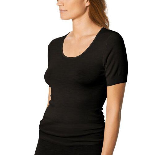 Mey Damen T-Shirt - Unterhemd aus Schurwolle und Seide - Sei... 38