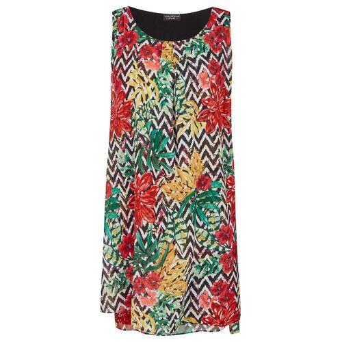 Via Appia Due Damen Sommerliches Kleid mit Muster-Mix 48