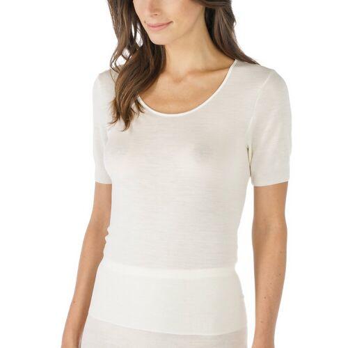 Mey Damen T-Shirt - Unterhemd aus Schurwolle und Seide - Sei... 44