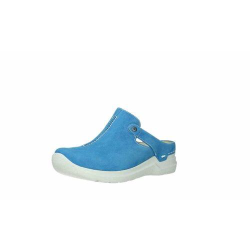 Wolky Clogs blau 41