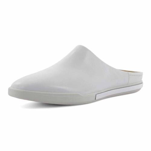 Ecco Clogs weiss Simpil II W White Eternity V2 41