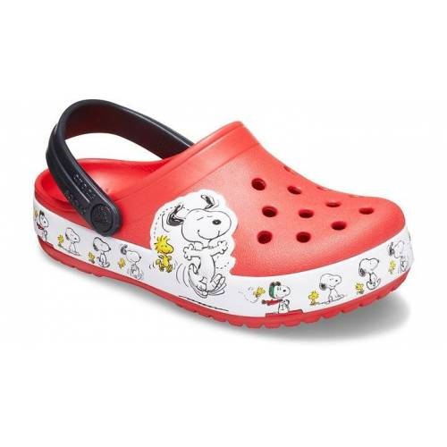 Crocs Fun Lab Snoopy® Woodstock® Clogs Kinder Flame 32