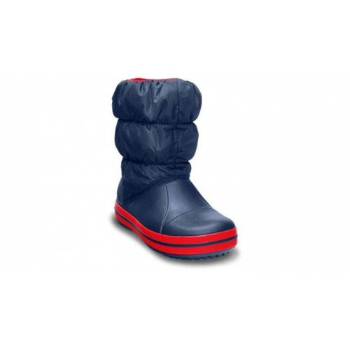 Crocs Winter Puff Boot Stiefel Kinder Navy / Red 25