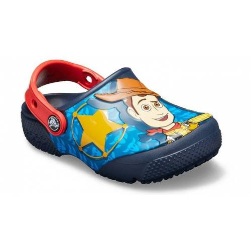 Crocs Fun Lab Disney and Pixar Buzz & Woody Clogs Kinder Navy 24