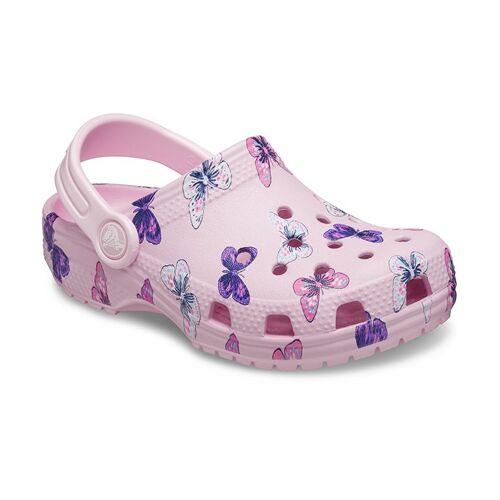 Crocs Classic Butterfly Clogs Kinder Ballerina Pink 23