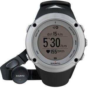 Suunto Ambit2 HR Bluetooth Silver Unisexchronograph in Schwarz SS019651000