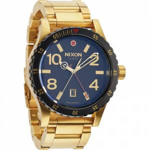 Nixon The Diplomat SS Herrenuhr in Gold A277-513