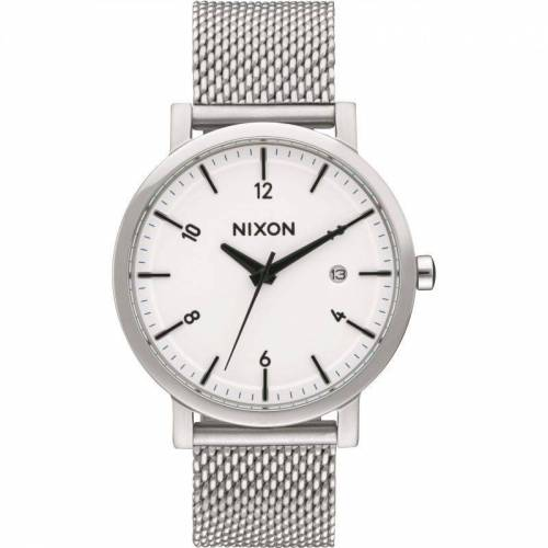 Nixon The Rollo 38 SS Herrenuhr in Silber A1087-2450
