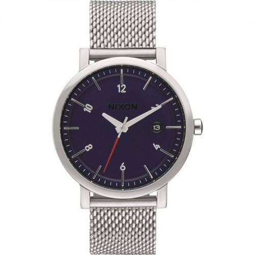 Nixon The Rollo 38 SS Herrenuhr in Silber A1087-307