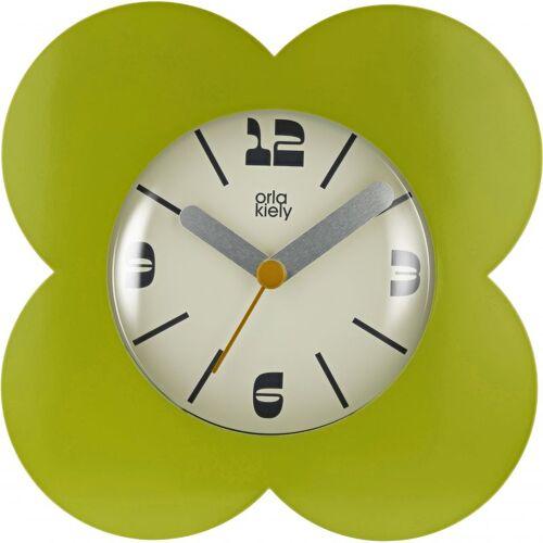 Orla Kiely Clocks Moss Clock Unisexuhr in Grün OK-ACLOCK02