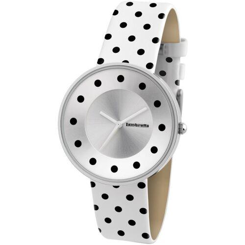 Lambretta Cielo Dots Damenuhr in Weiß 2104WHI