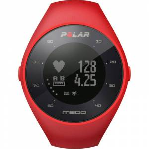 Polar M200 Bluetooth GPS Activity Tracker Heart Rate Monitor Unisexchronograph in Rot 90061217