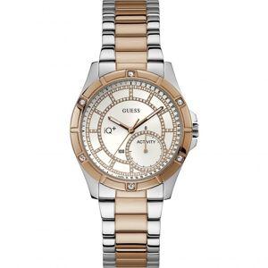 Guess IQ+ Hybrid Smartwatch Damenuhr in Zweifarbig C2002L3