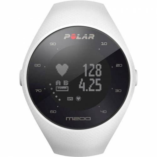 Polar M200 Bluetooth GPS Activity Tracker Heart Rate Monitor Unisexchronograph in Weiß 90067741