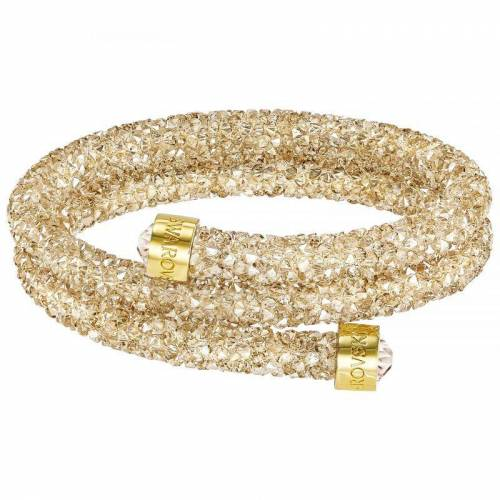 Swarovski Jewellery Damen Swarovski Swarovski-Kristall Crystaldust Armreif vergoldet 5237763