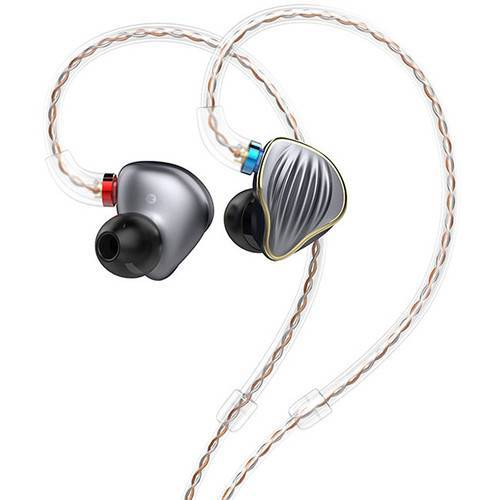 FiiO FH5 Quad-Driver Hybrid In-Ear Monitors - Titanium