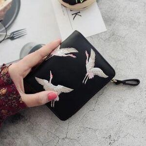 RAINBOWXX Embroidered Crane Wallet