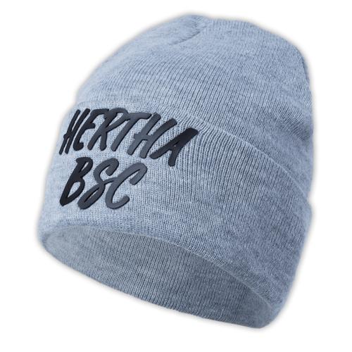 Hertha BFC Mütze Hertha BSC grau