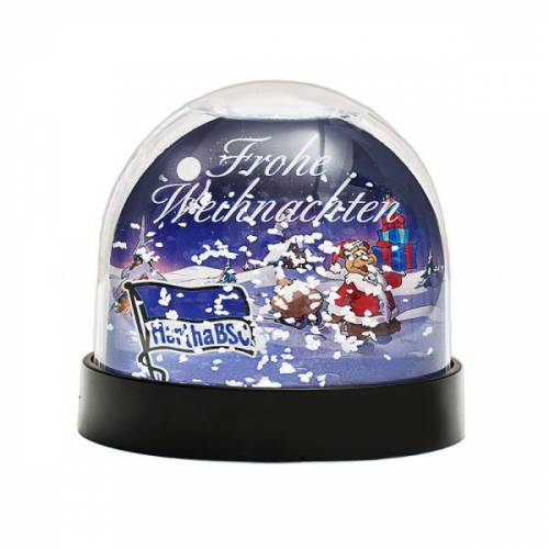 Hertha Schneekugel Weihnachten