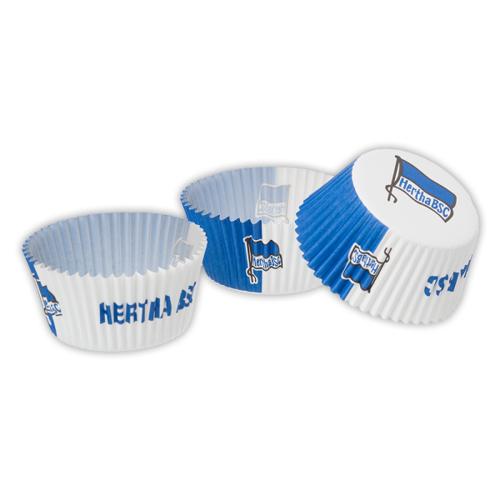 Muffinförmchen Hertha BSC 40er Set