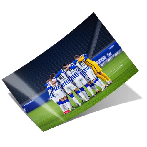 Hertha Poster Teamgeist