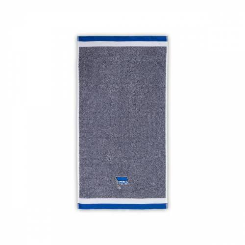 Hertha Handtuch blau melange