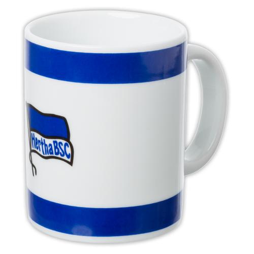 Hertha Tasse Logo blau-weiss