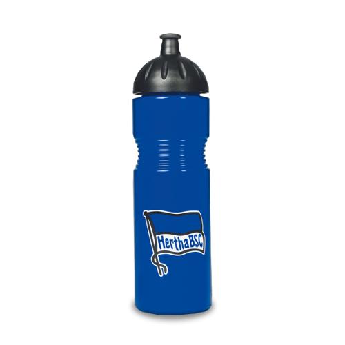 Hertha Trinkflasche Fahne blau 0,75l