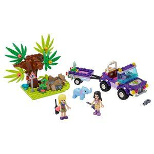 Lego Rettung des Elefantenbabys mit Transporter