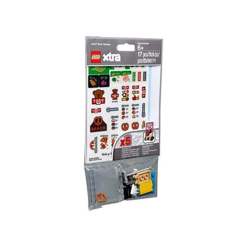 Lego Xtra Stein-Aufkleber