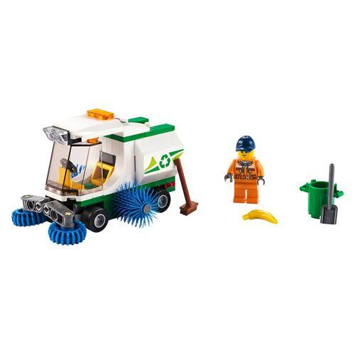 Lego Straßenkehrmaschine