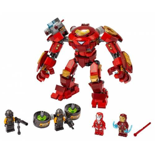 Lego Iron Man Hulkbuster vs. A.I.M.-Agent