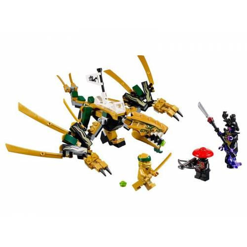 Lego Goldener Drache