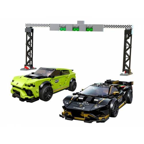Lego Lamborghini Urus ST-X & Lamborghini Huracán Super Trofeo EVO