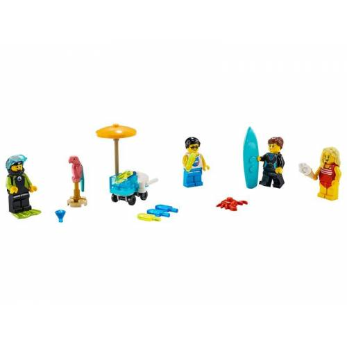 Lego Minifiguren-Set – Sommerparty