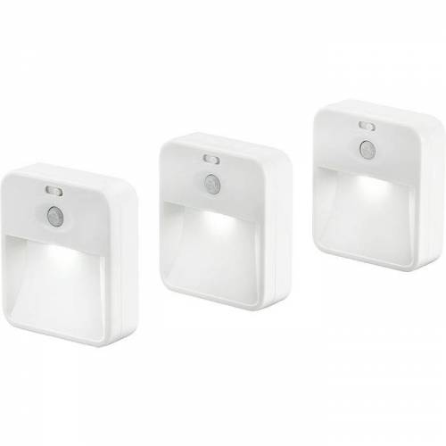 LED-Licht im 3er-Pack, koppelbar