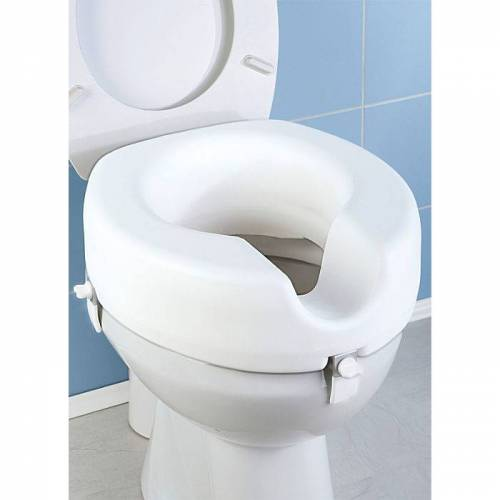 WC-Sitz Erhöhung weiss