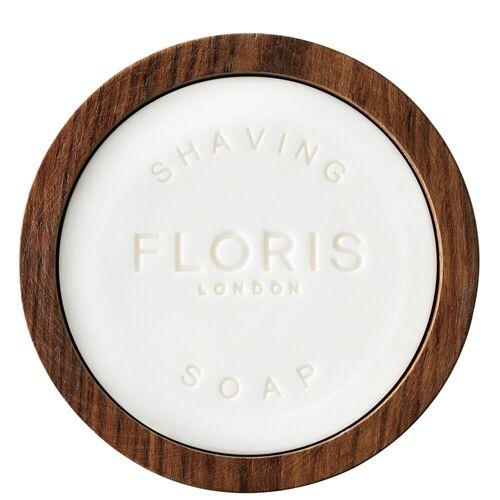Floris Elite Rasierseife in einer Holzschale 100g