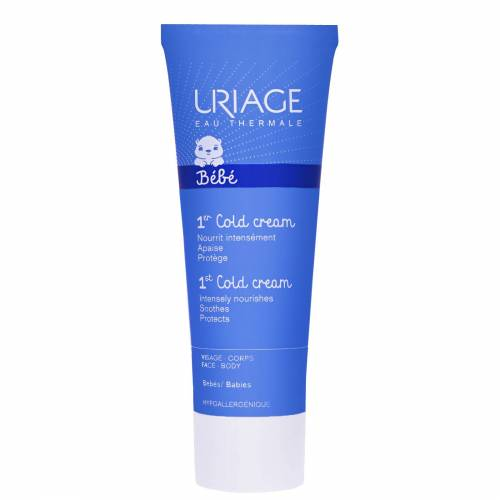 Uriage Eau Thermale Baby's 1st Skin Care 1. kalte Creme Ultra-nährende Creme 75ml