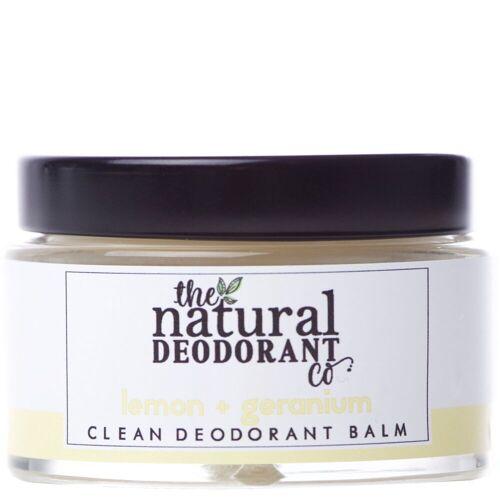 The Natural Deodorant Co. Clean Deodorant Balm Zitrone + Geranium 55g