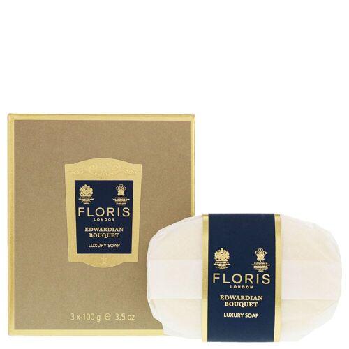 Floris Edwardian Bouquet Luxus Seife 3 x 100g