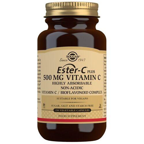Solgar Vitamins Ester-C Plus 500 mg Vitamin C Pflanzliche Kapseln x 250