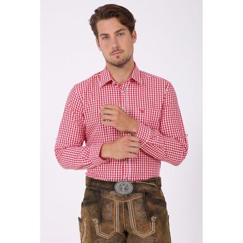Krüger Trachtenhemd rot male XL