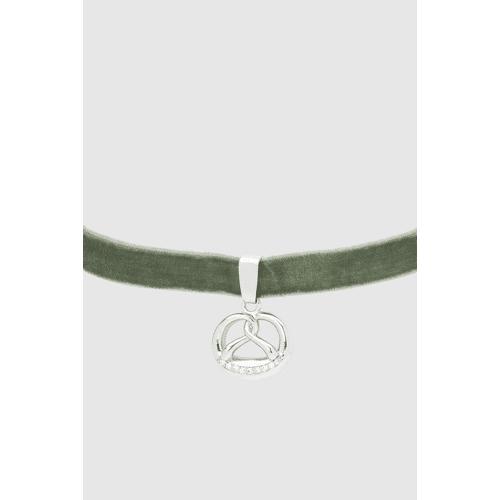 Krüger Choker-Halsband Brezen grün female 38