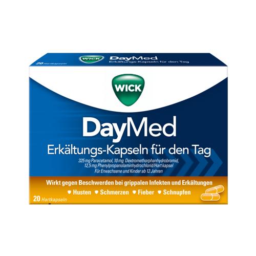 Procter & Gamble GmbH WICK DayMed Erkältungskapseln 20 St