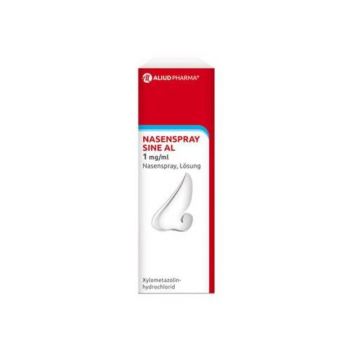 ALIUD Pharma GmbH NASENSPRAY sine AL 1 mg/ml Nasenspray 15 ml