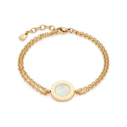 Leonardo Armband 18112 Edelstahl, Kristall
