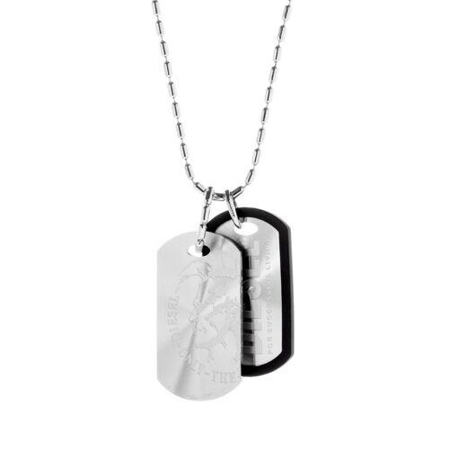 Diesel Halskette aus Edelstahl