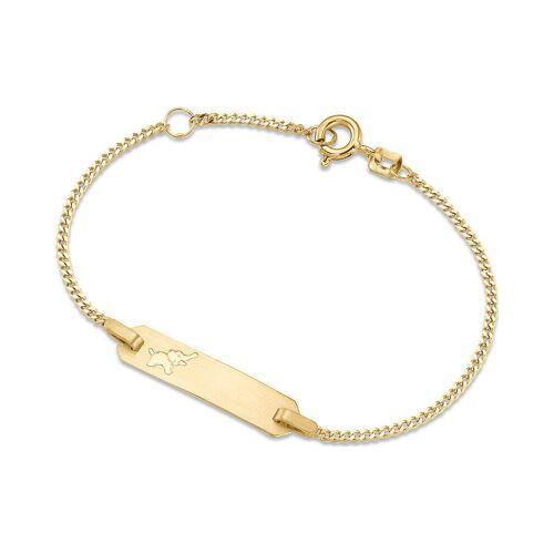 Christ Armband aus 333 Gelbgold